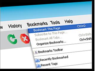 online bookmarks