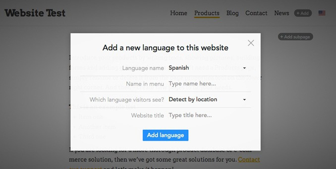 Translating a Website in Voog | Voog Review