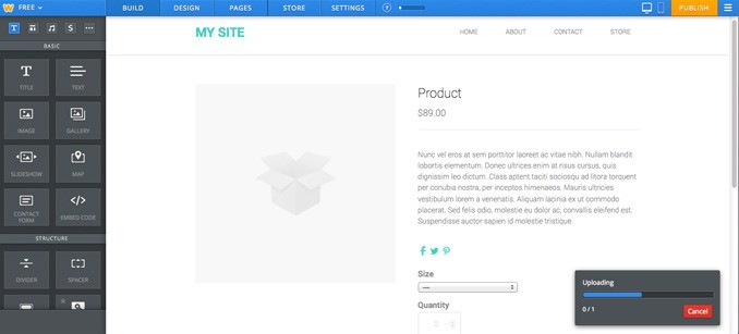 Weebly Review: Building A Storefront