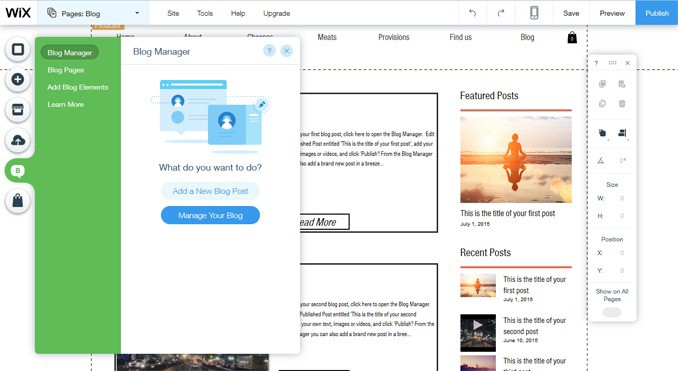Adding a Blog to Wix | Wix Review