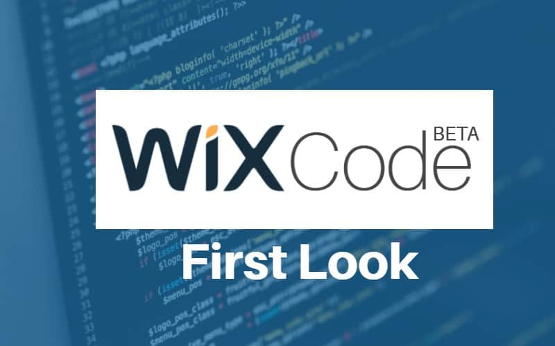 wix code first look