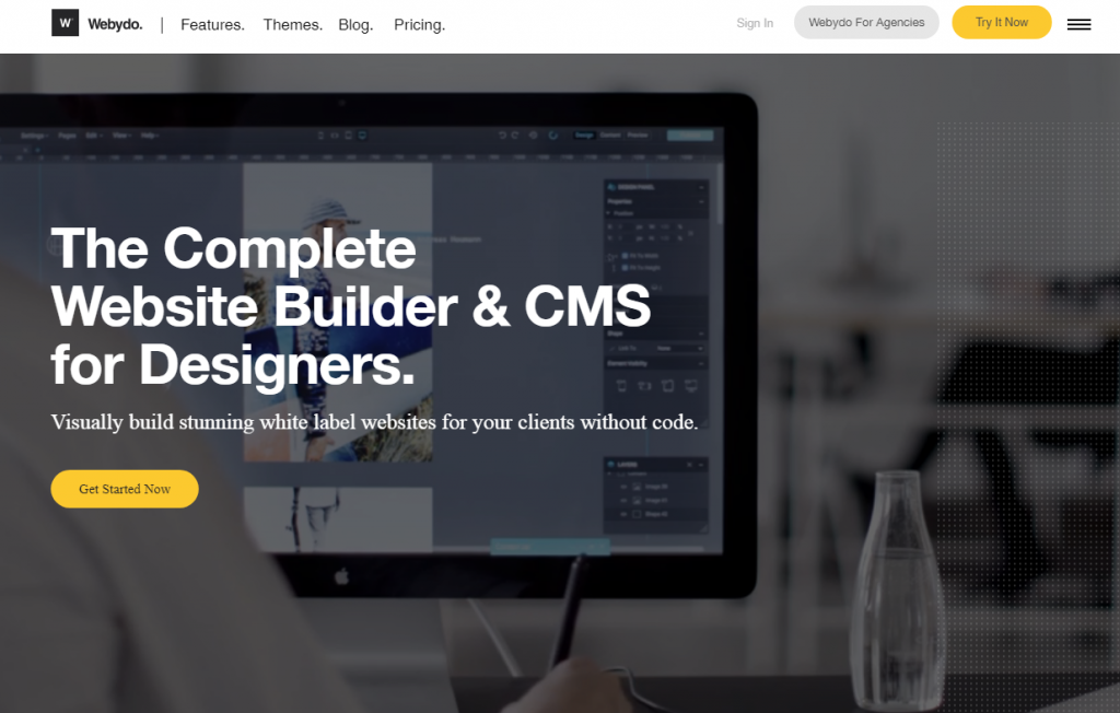 The Complete Website Builder and CMS for Designers