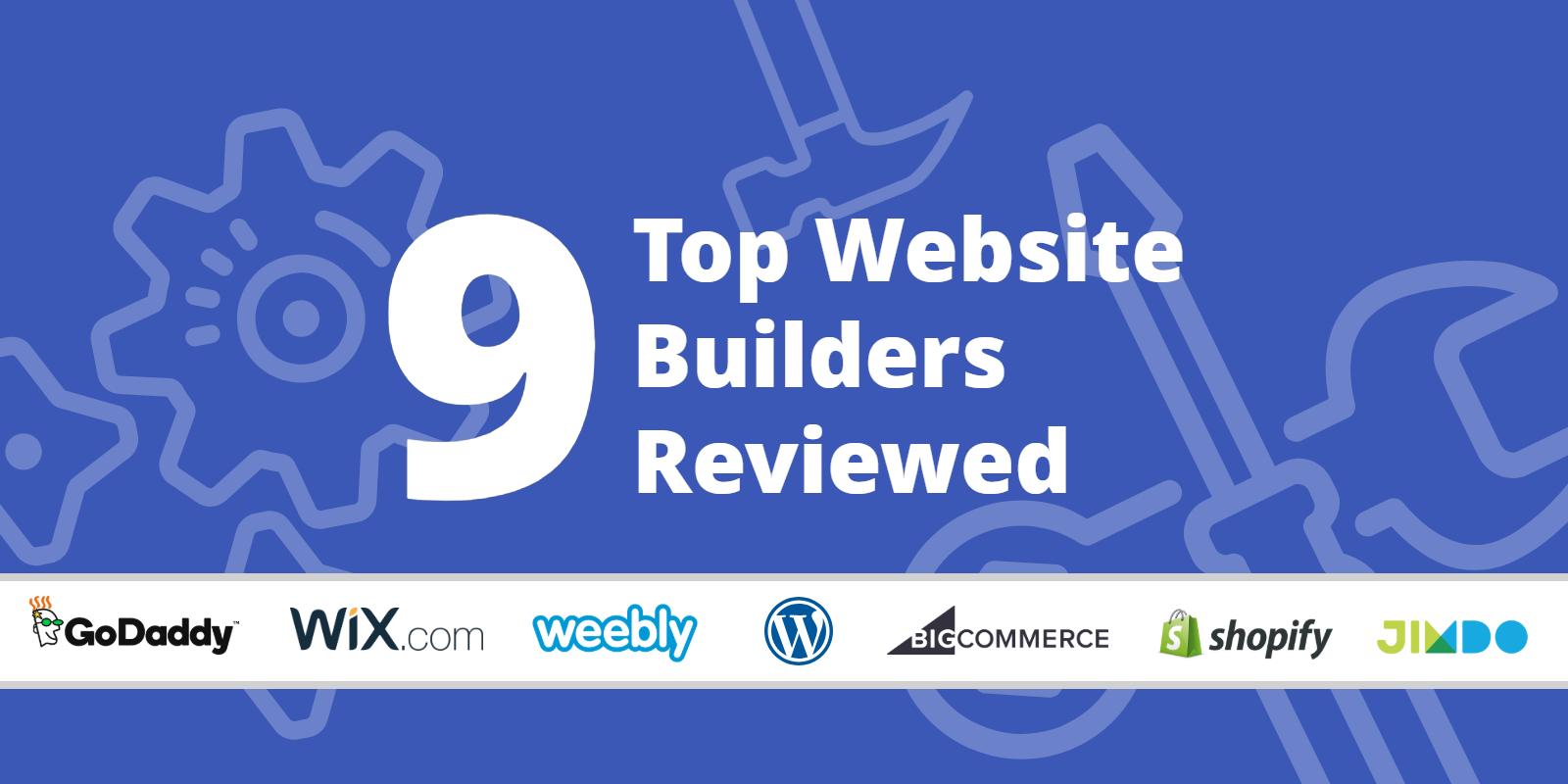 Top Website Builders >> Building Your First Website Today 9 Top Website Builders